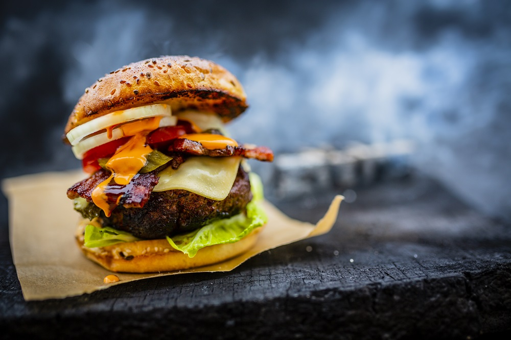 Przepis na burger z grilla