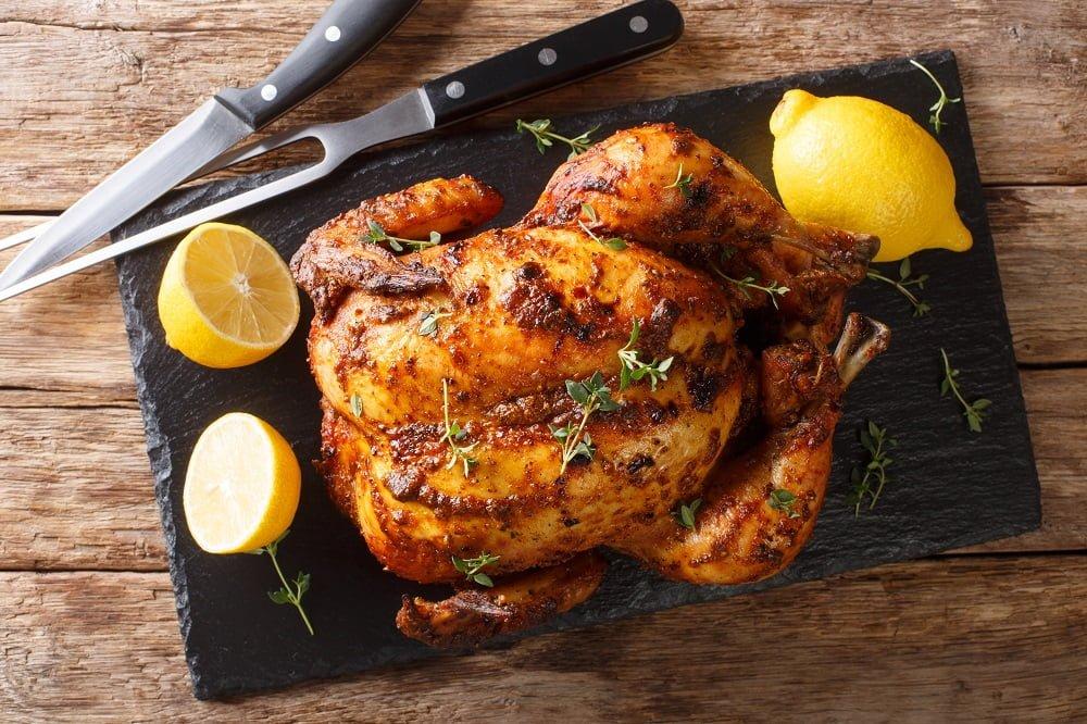 Przepis na kurczaka z rożna